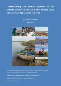 thumbnail of Contextualising the bycatch problem in the Olifants Estuary using an Ecosystem Approach to Fisheries_WRice