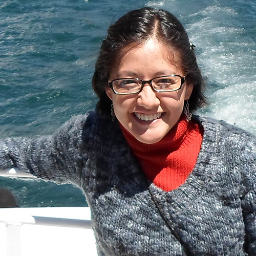 Karla Infante Community Conservation researcher