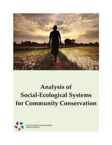 thumbnail of Analysis of Social-Ecological Systems for Community Conservation – CCRN